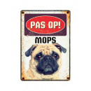 Plate Tin Mops