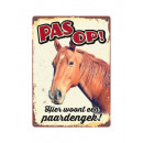 Tinplate Horse sign