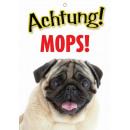 Warnzeichen Mops