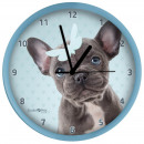 Großhandel Home & Living: Clock Französisch Bulldog 2