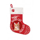 Harisnya macska piros