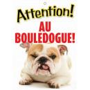 Panneau Bouledogue