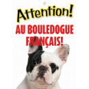 Panneau Bouledogue Français