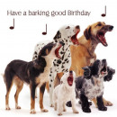 square card Mixed Dogs Dog Song