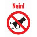 Warnzeichen Nein!