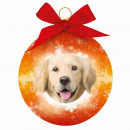 grossiste Maison et habitat: ornement de Noël Golden Retriever