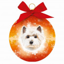 wholesale Decoration:Christmas ball Westie