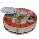 mayorista Casa y cocina: Set de 4 Posavasos - Gato de la Suerte Maneki Neko