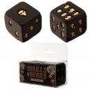 nagyker Játékok: Két fekete és arany kocka készlet