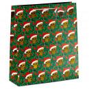 Bolsa de Regalo - Navidad - Calavera y Gorro Papá