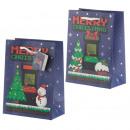 Bolsa de Regalo - Navidad - Game Over - Mediana