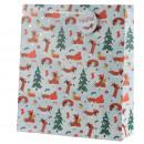 Bolsa de Regalo - Navidad - Perro Salchicha en la