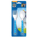 wholesale Cutlery: Set 2 plastic  cutlery for baby Paw Patro
