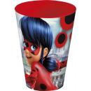 bicchiere di plastica Grande 430ml Miracolosa Lady