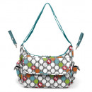 wholesale Baby Toys: Fisher Price - breast bag + acc 39x14x30.5 dots (