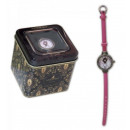 Großhandel Schmuck & Uhren: Armbanduhr mit  Kasten -Little Herzen von Gorjuss