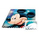 groothandel Tapijt en vloerbedekking: Eva puzzel tapijt  90x90cm van Mickey Mouse (ST12)