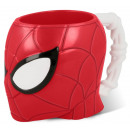 Plastic cup 3d polystyrene 290ml by Spiderman &#39