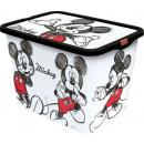 Mickey Mouse 23l Click Storage Box 'Fan