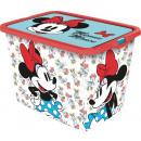 Minnie Mouse '23l Click Storage Box' Vin