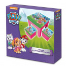 Table and 2 folding stools by Paw Patr