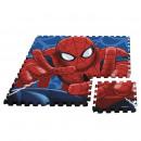 Großhandel Teppiche & Bodenbeläge: Eva Puzzle Matte  90x90cm von Spiderman (ST12)