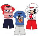 wholesale Nightwear: Mickey Mouse short sleeve pajamas