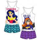 wholesale Nightwear: Pajama suspenders  full print of Super Hero Girls