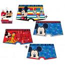 Großhandel Dessous & Unterwäsche: Pack 2  Druckboxershorts voller Mickey Mou
