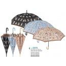 groothandel Paraplu's: Paraplu vrouw 61cm  automaat Perletti (6/6)