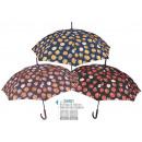 mayorista Maletas y articulos de viaje: Paraguas mujer  61cm automatico de Perletti (6/6)