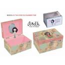 grossiste Mercerie et couture: Boîte à bijoux  musicale  15x10,5x8,5cm de ...