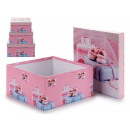 wholesale Shoes: Game 3 boxes pink shoes small
