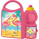 wholesale Lunchboxes & Water Bottles: Combo set with sport bottle 400ml Fla collection