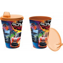 Glass with sipper easy 430ml from collection Cars