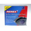 REINEX soap cleaning pads steel wool 8-er