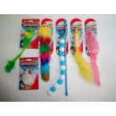 wholesale Garden & DIY store: REINEX PET`S WORLD cat toy assortment 6-fold