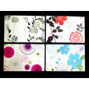 REINEX PACK Placemats 4- times assorted , 44 x 29