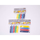 REINEX PACK closure clips 8 x 5, 5cm, 8 x 7cm, 8