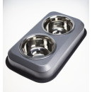 REINEX PET'S WORLD Feeding station stainless s