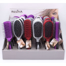REGINA hairbrushes Display 5x, 3 colors