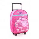 Peppa Pig trolley backpack pink