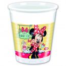 Minnie 8 Plastik Trinkbecher 200ml