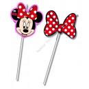 wholesale Party Items: Minnie Medallion Flexi Drinking Straws