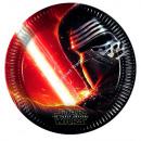 Star Wars 8 Papier teller 23 cm