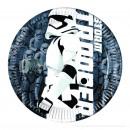 mayorista Articulos de fiesta: Star Wars 8 Platos de cartón 20cm
