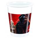 Star Wars 8 Plastik Trinkbecher 200ml