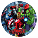 Avengers 8 Platos de cartón 23cm