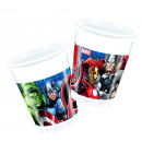 Avengers 8 Vasos de Plástico 200ml