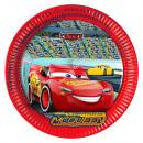 wholesale Party Items: Cars 8 paper plates 23 cm